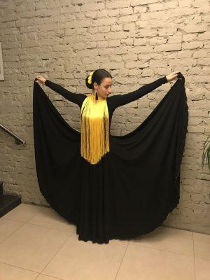 Платье-солнце
